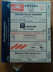 1984 Saginaw City And County Directory Zilwaukee Carrollton + Frankenmuth Advert