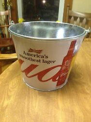 Budweiser America's Smoothest Lager Beer Ice Bucket Cooler