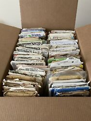 Lot Of 89 Vintage Sewing Patterns - Mccall's   Butterick   Simplicity   Vogue