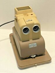 Great Working Sawyerand039s View-master Stereo-matic 500 3d Projector + Carrying Case