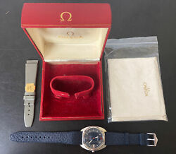 Omega Constellation Box And Papers Vintage Wrist Watch Circa 1976