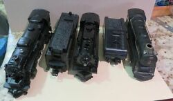 Lot 2 Lionel Model Trains And Tenders And A Marx 898 Train O / O27 Gauge