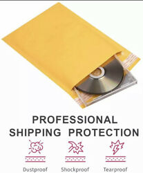 500 0000 4x6 Small Self Seal Kraft Bubble Mailers Padded Envelopes 4 X 6💎✨