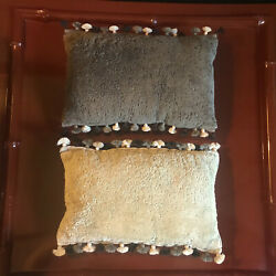 Decorator Custom Made Tony Duquette Style Moroccan Cushions Pair Pillows 2/2
