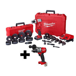 M18 18-volt Lithium-ion Cordless 1/2 In. To 4 In. Force Logic 6-ton Knockout Too