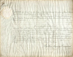 King George Iv Great Britain - Military Appointment Signed 10/15/1811 With Co-