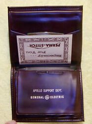 New Credit Card/wallet - Apollo Space Program - General Electric Support Dept