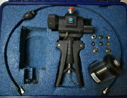 Ge Druck Pv411 Pneumatic/hydraulic Pressure And Vacuum Hand Pump With Case/extras