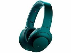 Sony H.ear On Wireless Noise Cancelling Headphone, Viridian Blue Mdr100abn/l