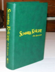 Ltd Ed. 26 Lettered Copies Signed By Jim Butcher - Summer Knight Dresden Files