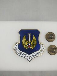 Us Air Forces In Europe Beret Badge Large 1-1/2 Us Air Force Pin