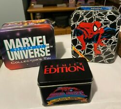 1990 91 92 Marvel Universe Series 1 2 3 Sets 15 Holograms In Tins Free S/h