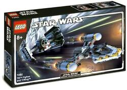 Lego Star Wars Tie Fighter And Y-wing 7262 Toys-r-us Exclusive No Instructions