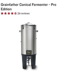 Grainfather Pro Edition Conical Fermenter Stainless Temperature Controlled Beer