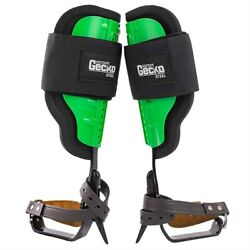 Gecko Tree Climbing Spurs/spike Set Steel Climbers With Long Gaffs In Stock