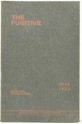 John Crowe Ransom / Agrarian Literature Poetry The Fugitive Volume Iv 293549