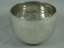 Rare George Ii Solid Silver Tumbler Cup 1758 73gm