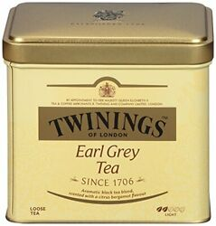 Of London Loose Tea Tins 7.05 Ounces Pack 7.05 Ounce Pack Of 6 Earl Grey