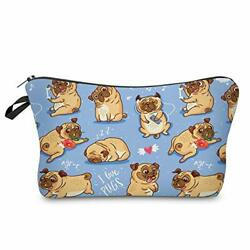 Cosmetic Bag for Purse Adorable Cute Roomy Makeup Bag Pouch SharPei 51491 $10.16