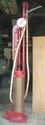 Antique Gas Pump Gilbert And Barker Type 99 Model 9 8785 Curbside Pat.1912 And 1916