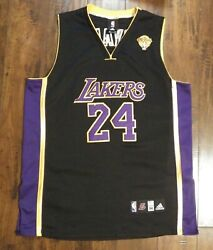 Adidas Kobe Bryant 2010 Nba Finals Jersey 54 Pre Owned