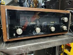 Mcintosh Mr73 Fm/am Stereo Tuner With Case Vintage Works But Needs Service/parts