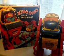 Vintage 1970and039s Topper Ding A Ling King Ding In Original Box