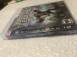 Brutal Legend Sony Playstation 3 2009 Ps3 New Ripped Tear Seal