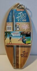 Mellow Militia Deluxe Edition Tiki Toss Hook And Ring Game Nib