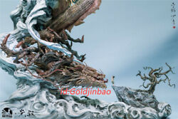 Chinese Dragon And Child Resin Model Painted Statue In Stock Infinity Studio Hot