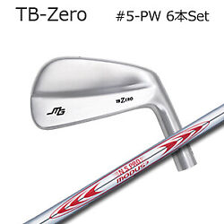 Miura Giken Iron Pieces Set 5-pw Tb-zero Nspro Modus3 130 Modus Japan Shaft