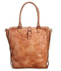 Bed Stu Mildred North South Leather Zip Tote Bag $174.99
