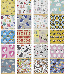 Ambesonne Cartoons Theme Microfiber Fabric By The Yard For Arts And Crafts
