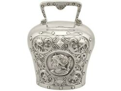 Sterling Silver Table Bell - Antique Victorian 1897