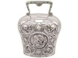 Antique Sterling Silver Table Bell Victorian 1897