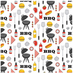 Grill Master- King Of The Grill- Camelot Fabric Sold By The Yard