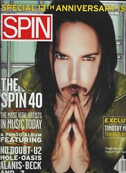 Nine Inch Nails Amazing Nm Vintage Spin Magazine 12 Anniversary Issue/april 1997