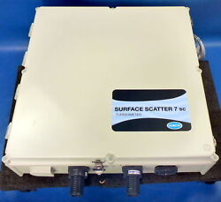 Hach Surface Scatter 7 Sc Turbidimeter Enclosure W/ Fittings And Manual