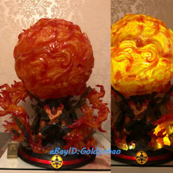 One Piece Portgas D Ace Fire Led Light Burning Point Studio Bp In Stock New