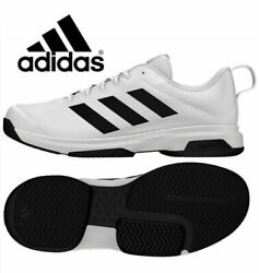 New Adidas Menand039s Game Spec Athletic Tennis Shoes Various Size/black/white