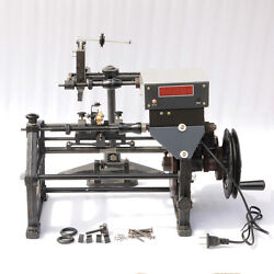 S 220v Manual Automatic Hand Electronic Coil Count Winding Machine Winder Fz-160