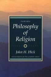 Philosophy Of Religion By John H Hick New