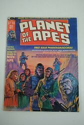 Planet Of The Apes 1 Magazine August 1974