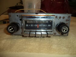 Corvette 1972 - 1976 Am/fm Stereo Radio And Correct Amp Excellent Cond Oem Ncrs