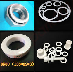 Large Round Dia14mm To 28mm New Ptfe Teflon Washer Gaskets