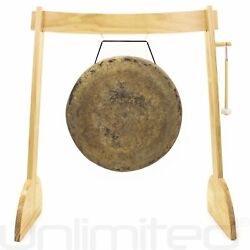 24 To 32 Gongs On The Small Lunaphonic Wood Gong Stand