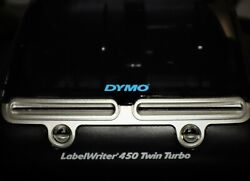 Dymo Labelwriter 450 Twin Turbo Thermal Printer W/usb And Power Adapter 2152310