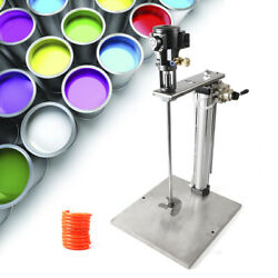 Pneumatic Mixer And Stand 5 Gallon Tank Barrel Paint Mix Lifting Stainless Steel