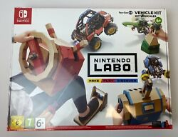 Nintendo Labo Toy-con Vehicle Kit Nintendo Switch Brand New And Factory Sealed