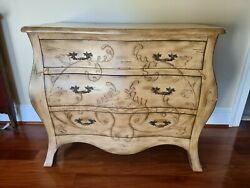 Large Bombay Bombe Chest Of Drawers Console Dresser